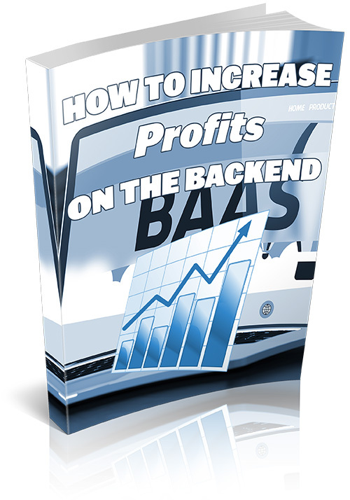 Product picture How To Increase Profits On The Backend
