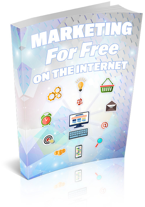 Product picture Marketing For Free On The Internet